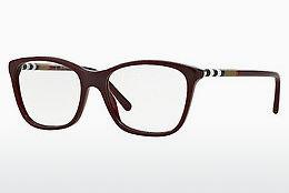 Brille Burberry BE2141 3403 - Rot, Bordeaux