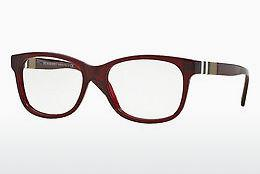 Brille Burberry BE2204 3543 - Rot, Bordeaux