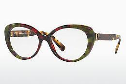 Brille Burberry BE2251 3638 - Grün, Braun, Havanna, Rot