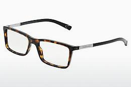 Brille Dolce & Gabbana BASALTO COLLECTION (DG3211 502) - Braun, Havanna