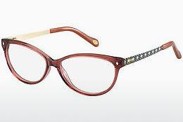 Brille Fossil FOS 6007 GIE - Rot, Rosa