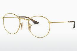 Brille Ray-Ban ROUND METAL (RX3447V 2500) - Gold