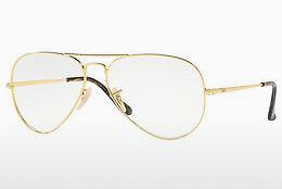 Brille Ray-Ban Aviator (RX6489 2500) - Gold