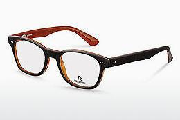 Brille Rodenstock R5185 G - Schwarz, Orange