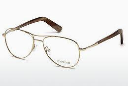 Brille Tom Ford FT5396 028 - Gold