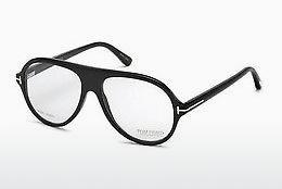 Brille Tom Ford FT5437-P 63A - Braun, Ivory, Black