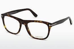 Brille Tom Ford FT5480 052 - Braun, Havanna