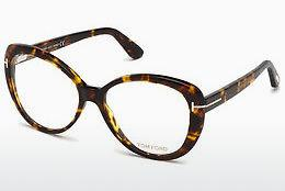 Brille Tom Ford FT5492 052 - Braun, Havanna