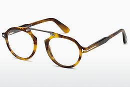 Brille Tom Ford FT5494 055 - Mehrfarbig, Braun, Havanna