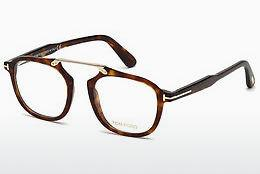 Brille Tom Ford FT5495 054 - Rot, Braun, Havanna