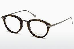 Brille Tom Ford FT5497 052 - Braun, Havanna
