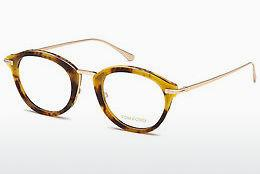 Brille Tom Ford FT5497 055 - Mehrfarbig, Braun, Havanna