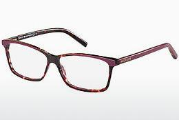 Brille Tommy Hilfiger TH 1123 4KQ - Rot, Braun, Havanna