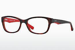 Brille Vogue VO2814 2105 - Rot, Braun, Havanna