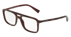 Dolce & Gabbana DG3267 3093 STRIPED RED ON BORDEAUX