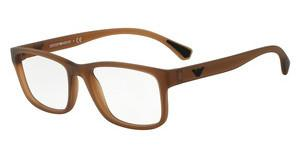 Emporio Armani EA3089 5533 MATTE TRANSPARENT BROWN