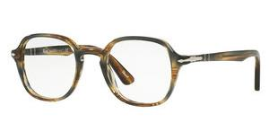 Persol PO3142V 1049 STRIPED BROWN GREY