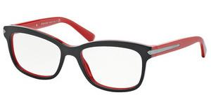 Prada PR 10RV 7I61O1 TOP BLACK/RED