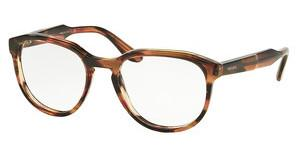 Prada PR 18SV UEO1O1 STRIPED BROWN