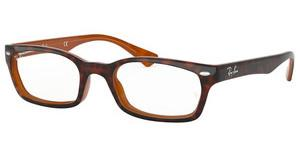 Ray-Ban RX5150 5713 TOP HAVANA ON LIGHT BROWN