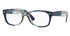 Ray-Ban RX5184 5516 GRADIENT GREY ON BLUE