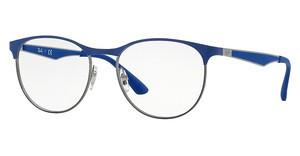Ray-Ban RX6365 2889 GUNMETAL TOP ON ELECRTIC BLUE