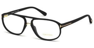 Tom Ford FT5296 002 schwarz matt