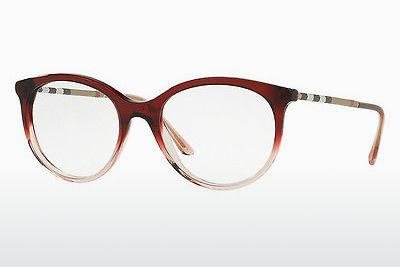 Brille Burberry BE2244Q 3553 - Rot, Rosa