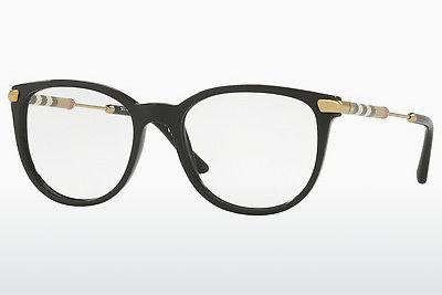 Brille Burberry BE2255Q 3001 - Schwarz