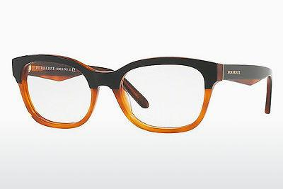 Brille Burberry BE2257 3650 - Schwarz, Orange