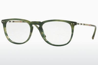 Brille Burberry BE2258Q 3659 - Grün, Braun, Havanna
