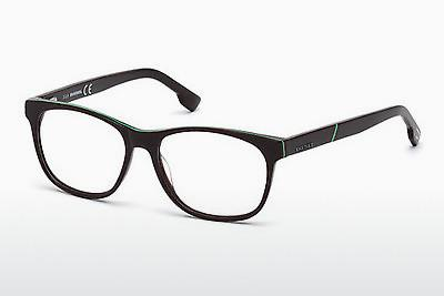 Brille Diesel DL5198 069 - Burgund, Bordeaux, Shiny