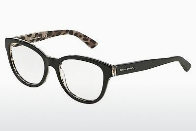 Brille Dolce & Gabbana Enchanted Beauties (DG3209 2857) - Schwarz, Leopard