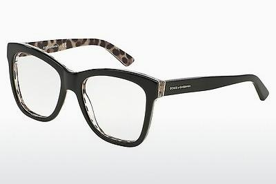 Brille Dolce & Gabbana ENCHANTED BEAUTIES (DG3212 2857) - Schwarz, Leopard