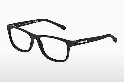 Brille Dolce & Gabbana OVER-MOLDED RUBBER (DG5003 2616) - Schwarz