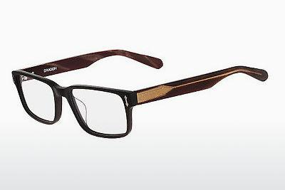 Brille Dragon DR136 OWEN 002 - Schwarz, Matt