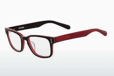Brille Dragon DR152 ALEX 200 - Braun, Rot
