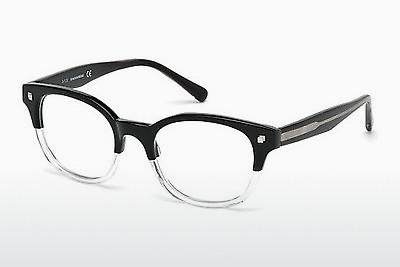 Brille Dsquared DQ5180 003 - Schwarz, Transparent