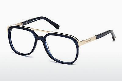 Brille Dsquared DQ5190 090 - Blau, Shiny