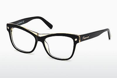 Brille Dsquared DQ5196 003 - Schwarz, Transparent