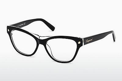 Brille Dsquared DQ5197 003 - Schwarz, Transparent