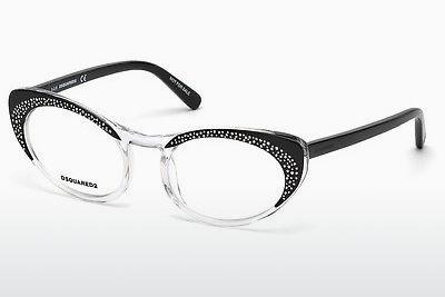 Brille Dsquared DQ5224 003 - Schwarz, Transparent