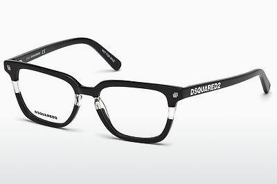 Brille Dsquared DQ5226 003 - Schwarz, Transparent