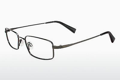 Brille Flexon 429 001 - Schwarz, Chrome