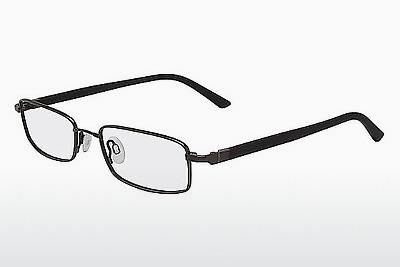 Brille Flexon 665 001 - Schwarz, Chrome
