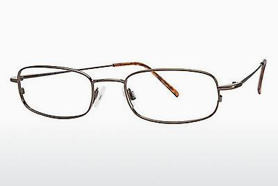 Brille Flexon FLX 803MAG-SET 218 - Braun
