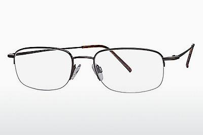 Brille Flexon FLX 806MAG-SET 218 - Braun