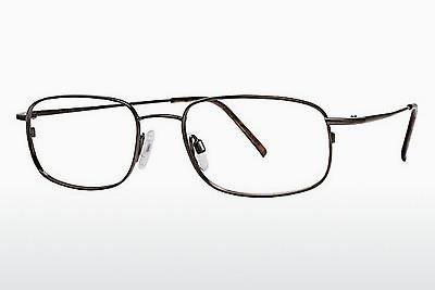 Brille Flexon FLX 810MAG-SET 218 - Braun