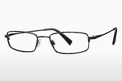 Brille Flexon FLX 881MAG-SET 001 - Schwarz, Chrome