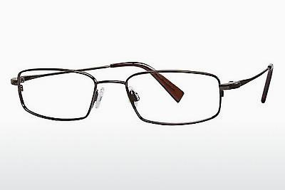 Brille Flexon FLX 881MAG-SET 218 - Braun